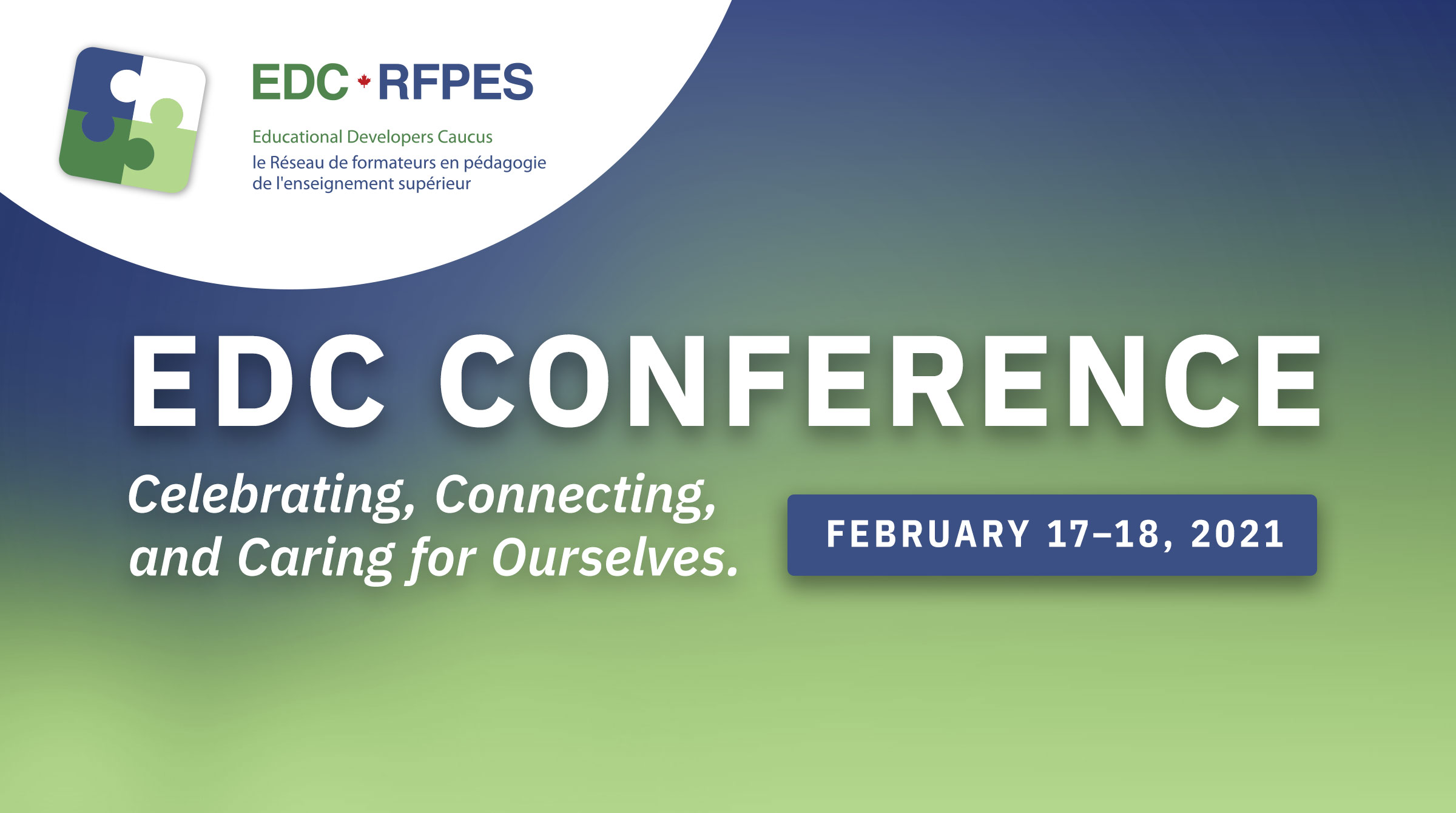 EDC Conference Celebrating, Connecting, and Caring for Ourselves