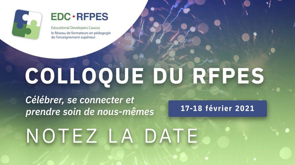 Colloque du RFPES célébrer, se connecter et prendre soin de nous-mêmes